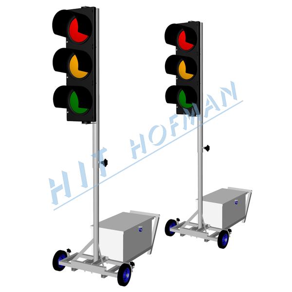 Mobil-Ampelanlage Satz MSS-HIT-1 LED : HIT HOFMAN, s. r. o.